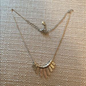 Gold bar necklace from Lauren Conrad!